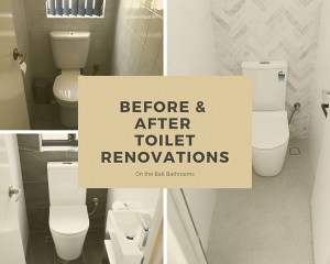 Before & After Toilet Renovations