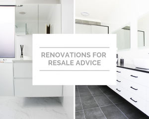 Renovations for Resale Advice
