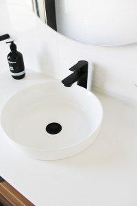 Black Sink Tapware