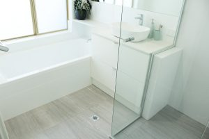 Neutral Floor, Light Walls, Great Storage Options