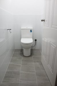 Toilet After