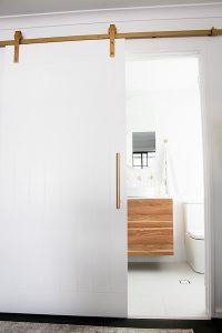 Toilet Door After
