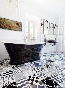 Tiling Style - Patterned Floor