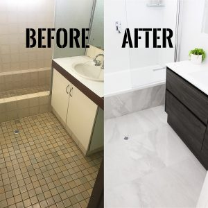 Before and After Shower Bath Renovations