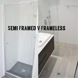 semi framed frameless