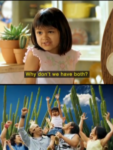 taco commercial people