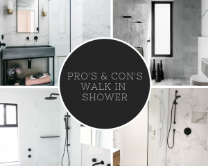 Pros & Cons Walk in Shower