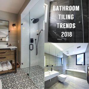 Bathroom Tiling Trends 2018