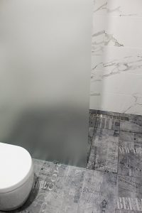 As i said at the start i am torn but i feel this is something that the individual has to be sure of. I still love this beautiful bathroom we did in Roleystone .   The use of modern tones such as oak barrel floor tiles but keeping it timeless with the marble wall tiles and under mounted stone.