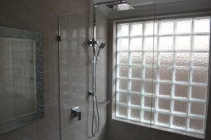 Bathroom Window Option - Glass Block