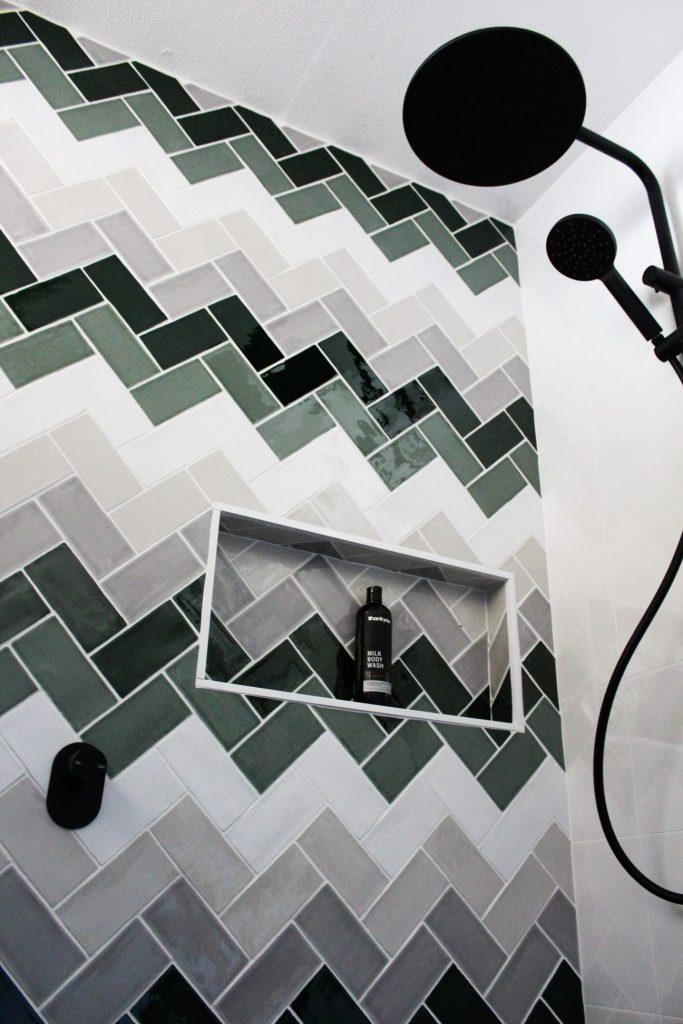 Herringbone Tiling Bathrooms
